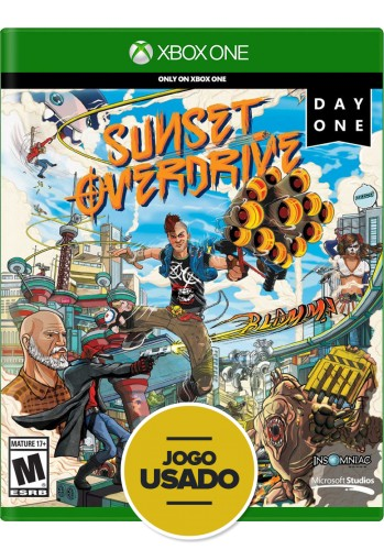 Sunset Overdrive (seminovo) - Xbox One
