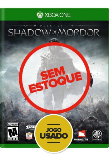 Terra-Média: Sombras de Mordor - Xbox One (Usado)