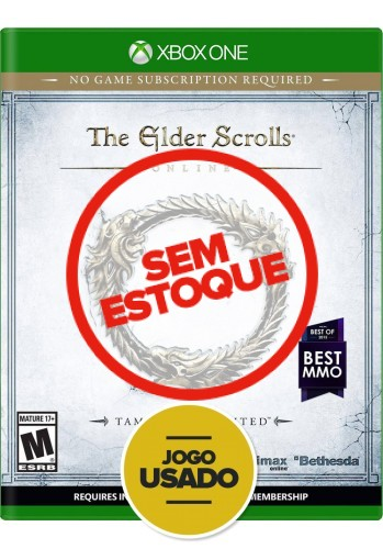 The Elder Scrolls Online: Tamriel Unlimited (seminovo) - Xbox One