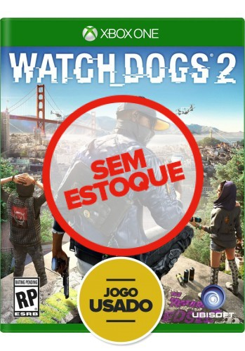 Watch Dogs 2 - Xbox One ( Usado )