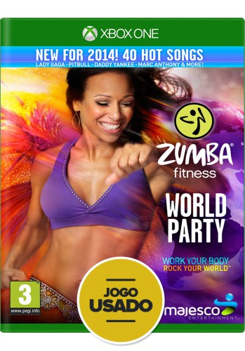 Zumba Fitness: World Party - Xbox One (Usado)