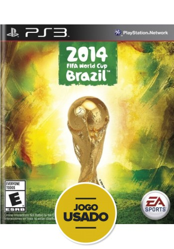 FIFA Copa 14 (seminovo) - PS3