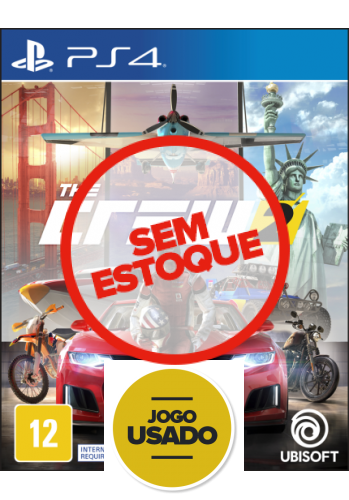 The Crew 2 - PS4 (Usado)