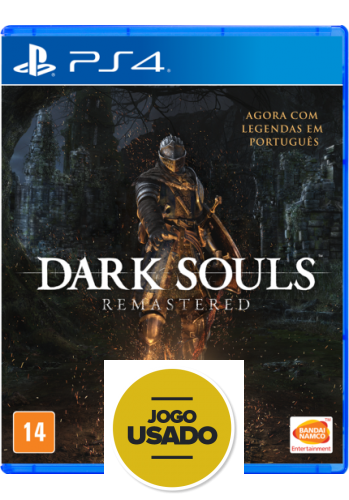 Dark Souls Remastered - PS4 (Usado)