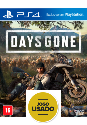 Days Gone - PS4 (Usado)