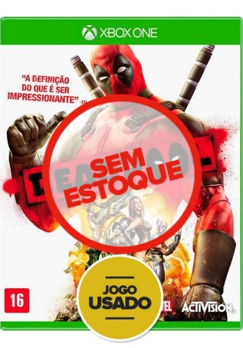 DeadPool  (seminovo) - Xbox One