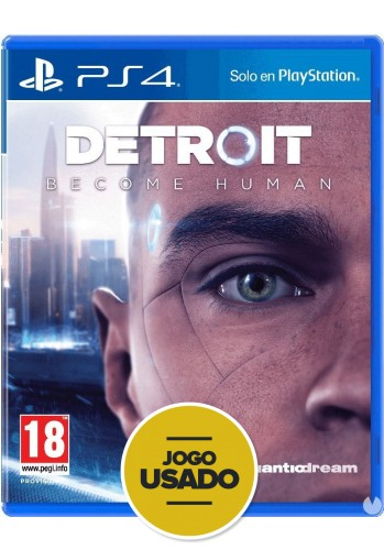 Detroit Become Human - PS4 (usado)