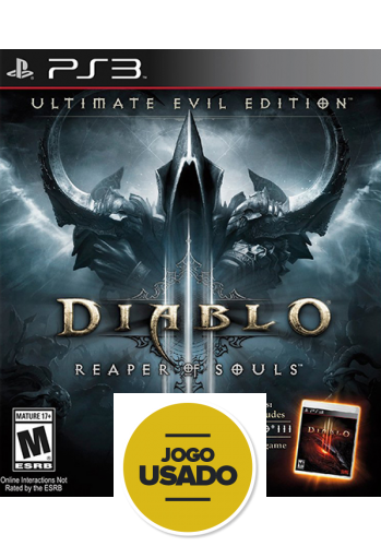 Diablo III: Reaper of Souls (seminovo) - PS3
