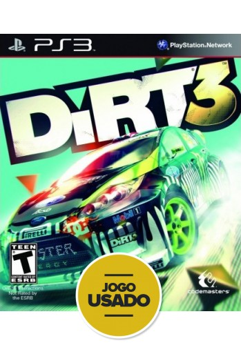 Dirt 3 - PS3 ( Usado )
