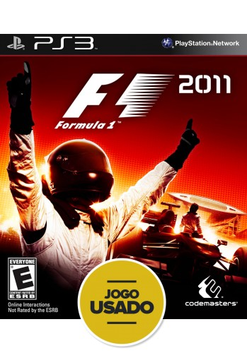 Formula 1 2011 (seminovo) - PS3