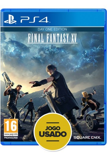 Final Fantasy XV (seminovo) - PS4
