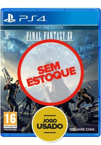 Final Fantasy XV (seminovo) - PS4