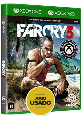 Farcry 3 (seminovo) - Xbox 360 e Xbox One