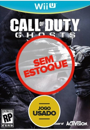 Call of duty Ghosts - WiiU ( Usado )