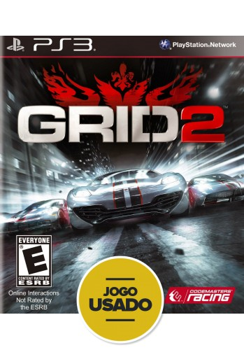 Grid 2 (seminovo) - PS3