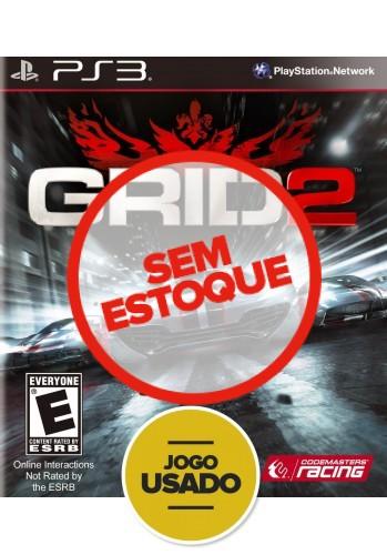 Grid 2 (seminovo) - PS3