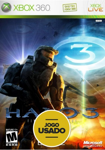 Halo 3 (seminovo) - Xbox 360