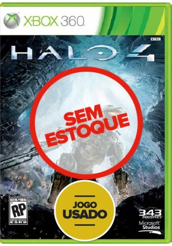 Halo 4 (seminovo) - Xbox 360