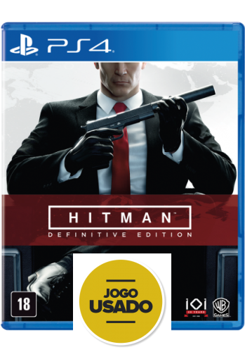 Hitman - Definitive Edition- PS4 (Usado)