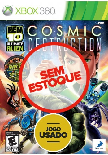 Ben 10 Ultimate Alien: Cosmic Destruction (seminovo) - Xbox 360