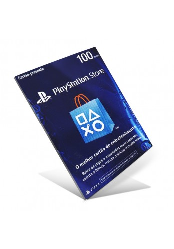 Cartão PSN R$100 (Playstation Network Card)