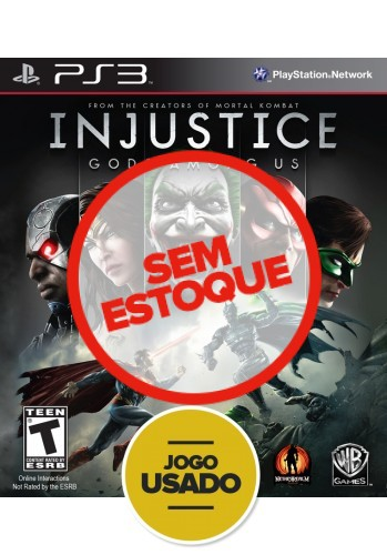 Injustice (seminovo) - PS3