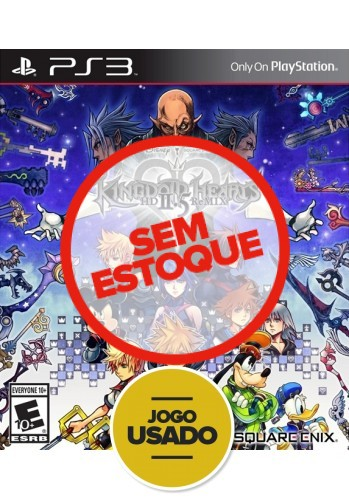 Kingdom Hearts HD 2.5 Remix - PS3 ( Usado )