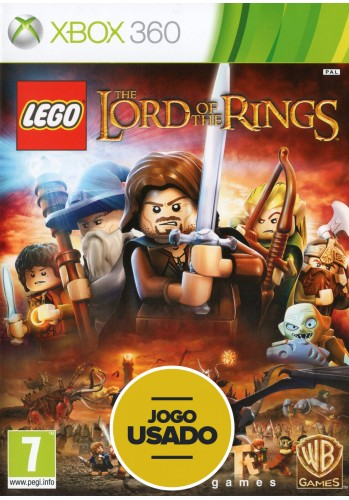 Lego: The Lord of the Rings (seminovo) - Xbox 360