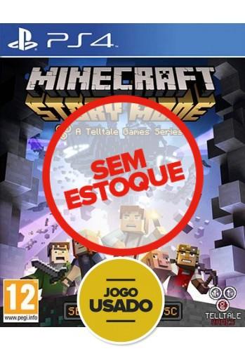 Minecraft Story Mode - PS4 ( Usado )