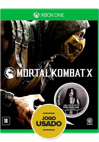 Mortal Kombat X (seminovo) - Xbox One