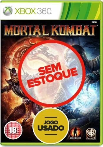 Mortal Kombat - Xbox 360 (Usado)