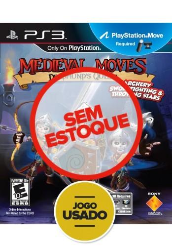 Medieval Moves - PS3 ( Usado )