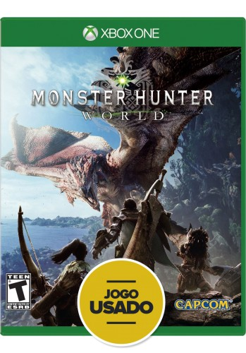 Monster Hunter World - XBOX ONE ( Usado)