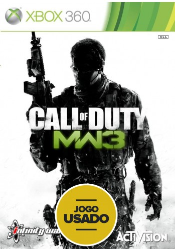 Call of Duty: Modern Warfare 3 (seminovo) - Xbox 360