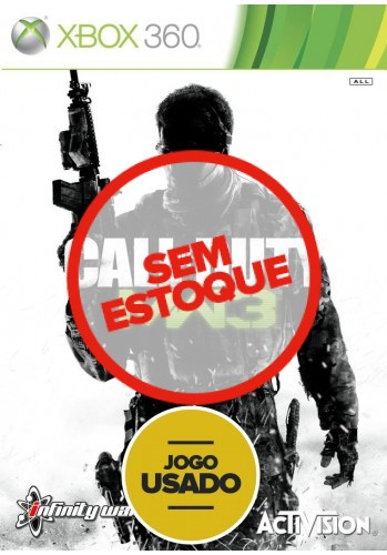 Call of Duty: Modern Warfare 3 (seminovo) - Xbox 360