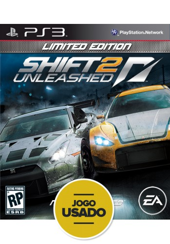 Need for Speed: Shift 2: Unleashed - PS3 ( Usado )