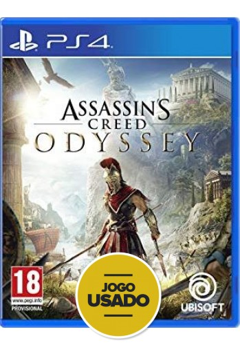 Assassins Creed Odyssey  - PS4 (Usado)