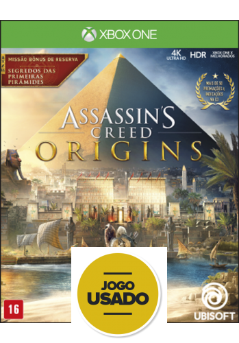 Assassin's Creed Origins - XBOX ONE (Usado)