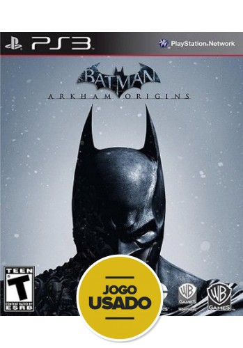 Batman Arkham Origins (seminovo) - PS3