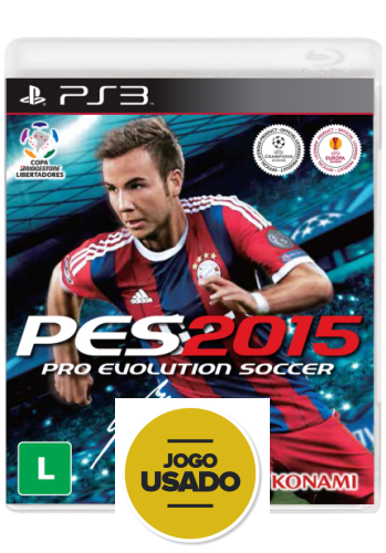 Pes 2015 (seminovo) - PS3