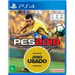 PES 2018: Pro Evolution Soccer - PS4 ( Usado )