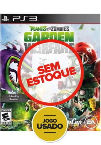 Plants vs Zombies Garden Warfare - PS3 ( Usado )