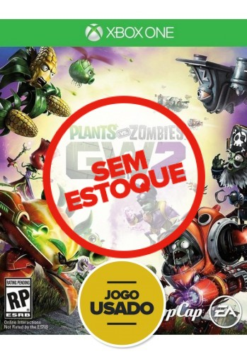 Plants vs Zombies: Garden Warfare (seminovo) - Xbox One