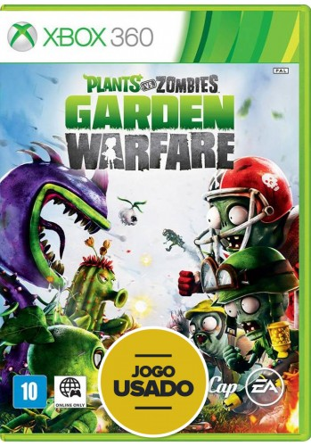 Plants vs Zombies: Garden Warfare (seminovo) - Xbox 360