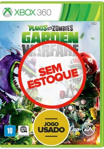 Plants vs Zombies: Garden Warfare (seminovo) - Xbox 360