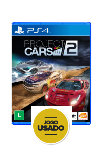 Project Cars 2 - PS4 ( Usado )