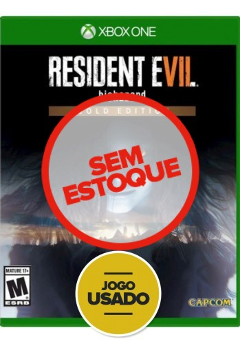 Resident Evil 7 - Biohazard: Gold Edition - Xbox One (Usado)