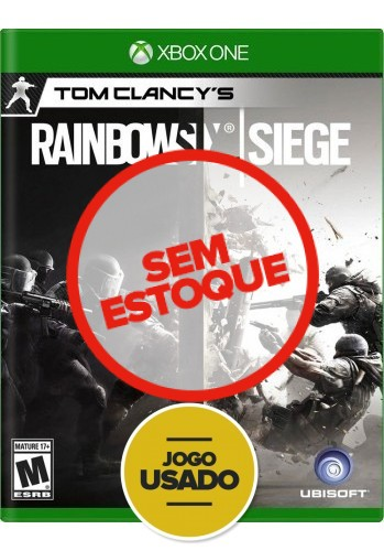 Tom Clancy's Rainbow Six Siege - Xbox One  (seminovo)