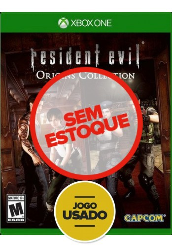 Resident evil: Origins Collection - Xbox One ( Usado )