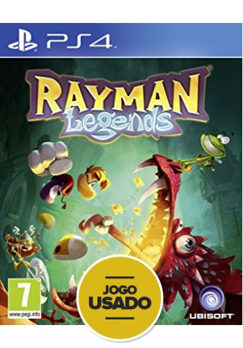 Rayman Legends - PS4 ( Usado )